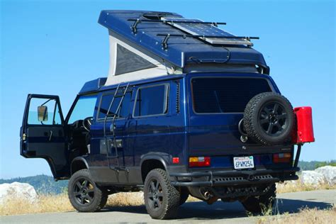 volkswagen vanagon lifted insane 70 000 volkswagen syncro westfalia german cars