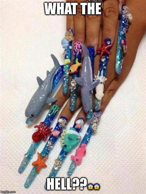 Meme Nail Art - nail art imgflip