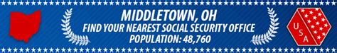 middletown oh social security offices ssa offices in