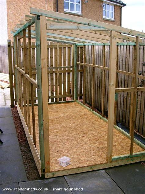 pent shed plans