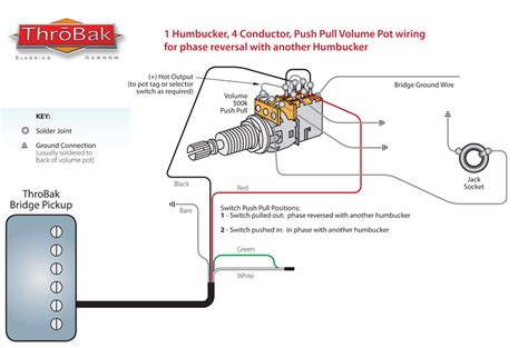 throbak push pull phase wiring