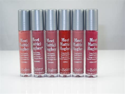 The Balm Meet Matt E Hughes Mini Kit Shades Baru Diskon the balm meet matt e hughes mini lasting liquid