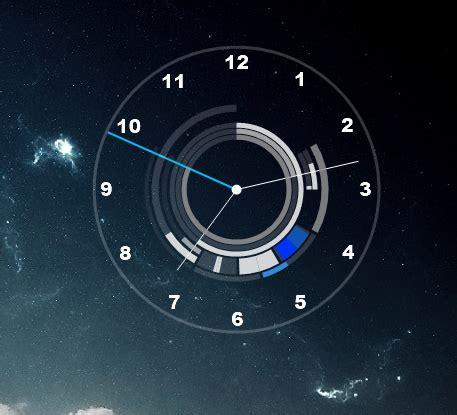 rainmeter themes clock edited arcs clock 2 0 by dem king77 on deviantart