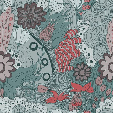 seamless pattern indesign stock vector graphicriver seamless flower pattern