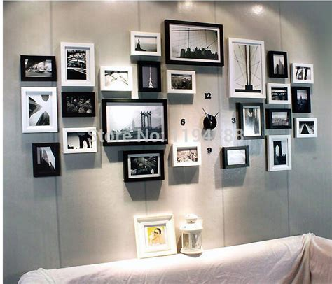 wall decor photo frame modern art love family wall decoration wood picture photo