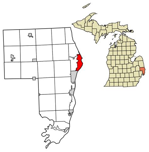 Clair County Records File St Clair County Michigan Incorporated And Unincorporated Areas Port Huron
