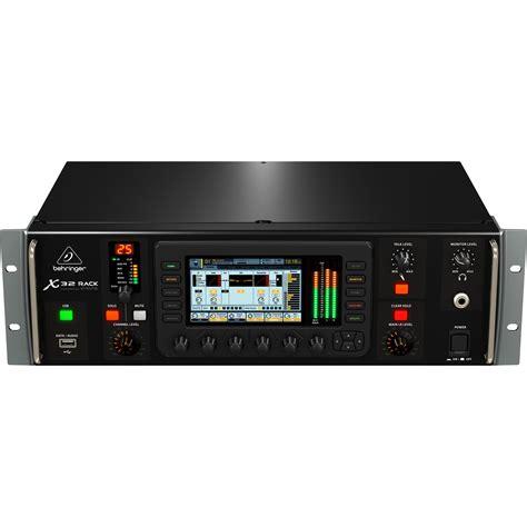 Behringer Rack behringer x32 rack 32 channel digital mixer 4ru w gui or iphone