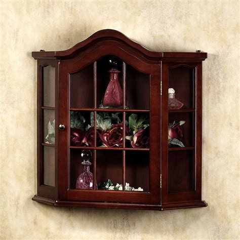 small wall curio cabinet aubrie wall curio cabinet