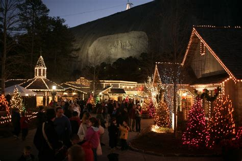 stone mountain christmas lights up atlanta s dekalb county