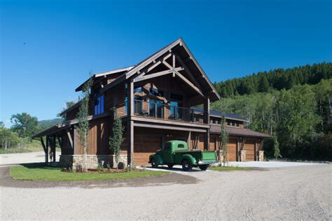Barns With Living Quarters Floor Plans by Mt Residence Barn W Living Quarters