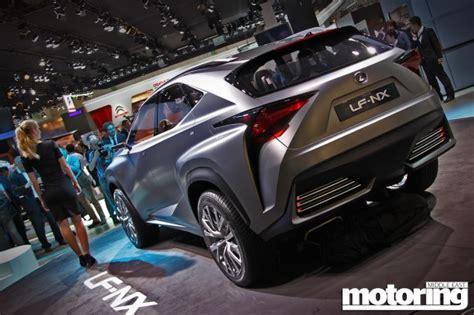 lexus lf nx price frankfurt 2013 lexus lf nx crossover concept motoring
