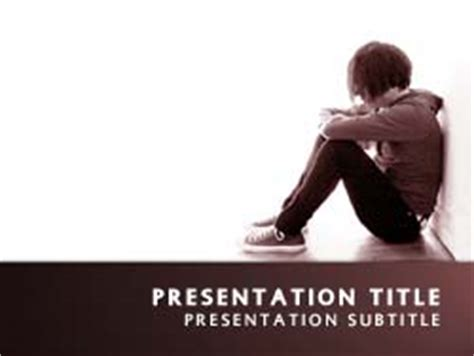 templates powerpoint bullying royalty free bully powerpoint template in red