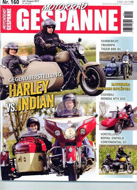 Motorrad Gespanne Bayern by Presseartikel Motorrad Gespanne Juli 2017