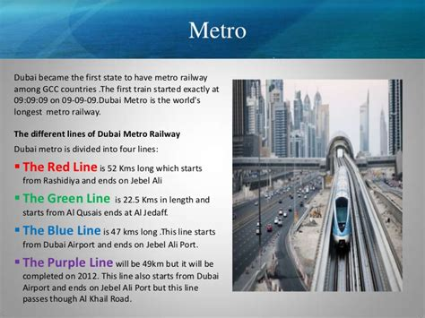 Metro State Mba Cost by Transportation Dubai