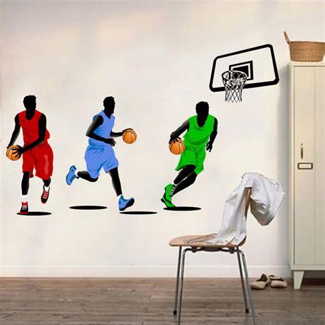 tennessee fanatic decor sports decor removable wall sticker decor basketball player sports fan