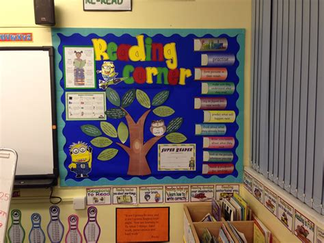 story themes ks2 reading corner display ks2 board pinterest classroom