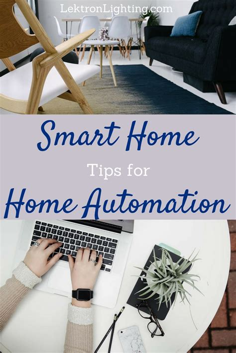 smart home home automation ideas lektron lighting