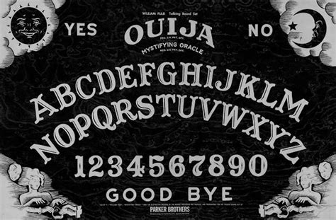 printable ouija board stencil quot ouija board quot stickers by lillyg redbubble