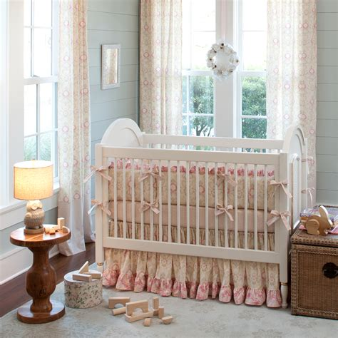 baby bed sets giveaway carousel designs crib bedding set