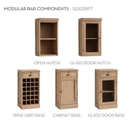 pottery barn modular bar cabinet build your own modular bar cabinets pottery barn
