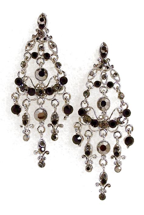 rhinestone chandelier earrings chandelier earrings black rhinestone chandelier earrings