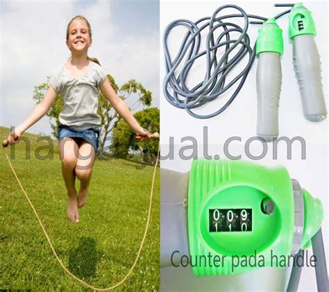 Murah Alat Kesehatan Olahraga Iron Alat Lompat Tali Skiping Speed lompat tali atau skipping olahraga efektif nan praktis harga jual
