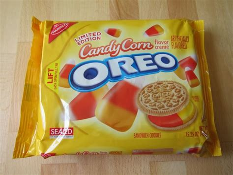 is the newest oreo flavor fried chicken first we feast review nabisco candy corn oreo cookies brand eating