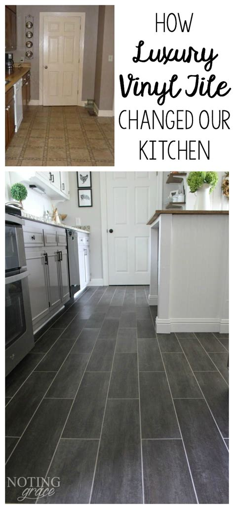 Kitchen Vinyl Floor Tiles Diy Kitchen Flooring Luxury Vinyl Tile Vinyl Tiles And Luxury Vinyl