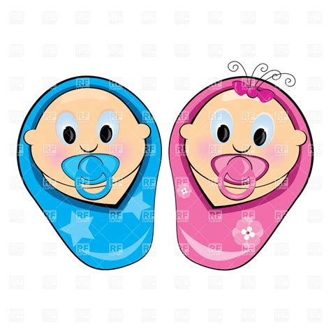 Baby Boy And Girl Clipart Clipart Suggest Picture Of Boy And Free