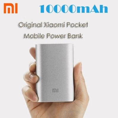 Great Power Bank Pocket original xiaomi pocket 10000mah mobile power bank 12 09