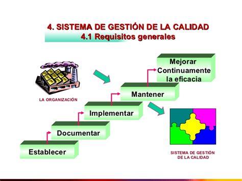 evaluacion del sistema de gestion de la calidad implementado en la requisitos de iso 9001