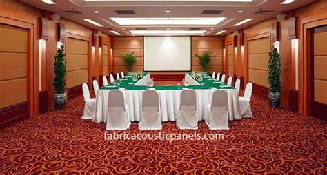 acoustic absorption panels  large rooms fabric