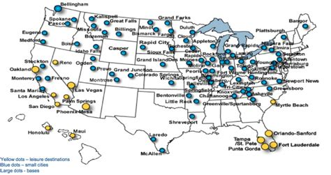 allegiant air route map us ultra low cost airlines capitalise on opportunities created by consolidation part 1 capa
