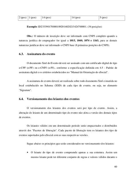 l or饌l si鑒e social manual de orienta 231 227 o aos desenvolvedores do esocial vers 227 o 1 0