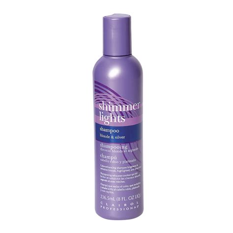 Light Blue Shade Conditioner by Clairol Shimmer Lights Original Conditioning Shoo For