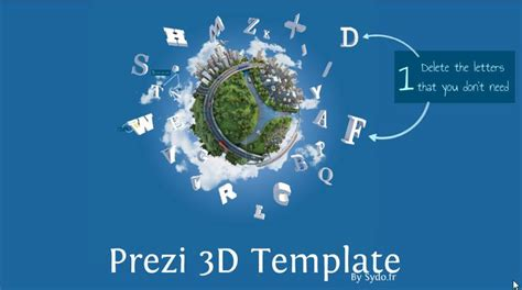 amazing prezi templates amazing 3d reusable prezi template offered for free from