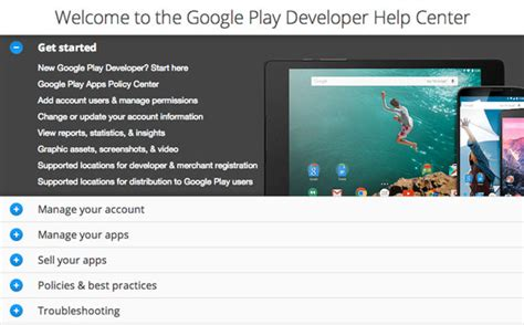 android help center 7 secrets to play app success