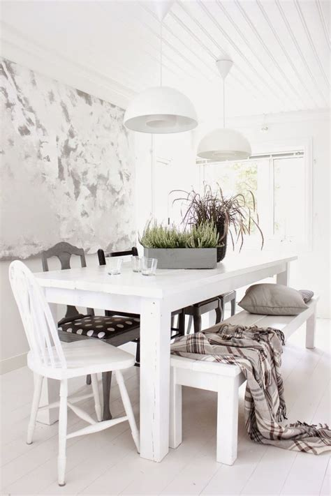 white dining room dining kitchen mix n