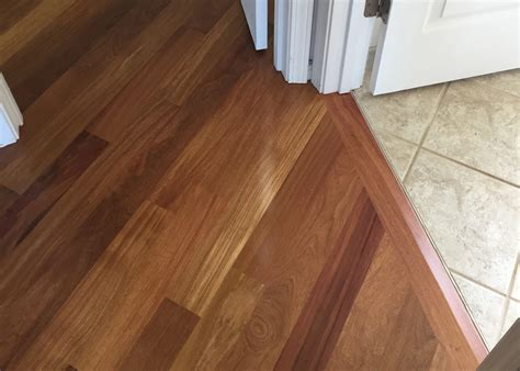 hardwood floor transition between rooms home flooring ideas