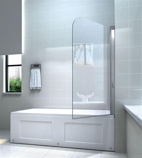 badewannen duschwand glas dusch faltwand fr badewannen die neueste innovation der