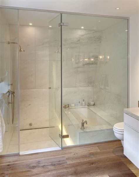 shower tub combination decor rock home