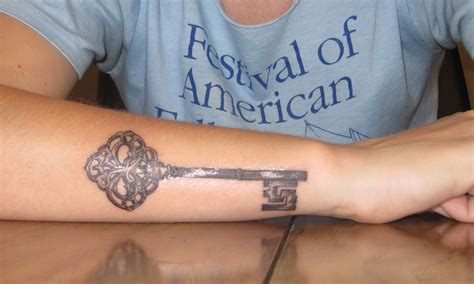 skeleton key tattoo key tattoos designs ideas and meaning tattoos for you