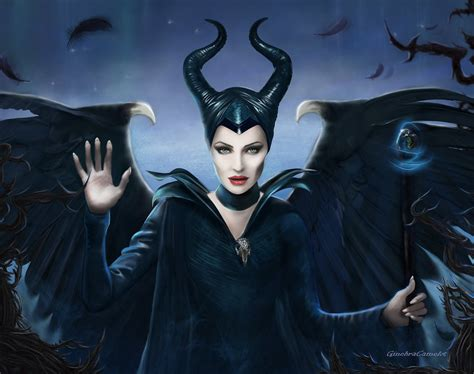the wings of maleficent by ginebracamelot on deviantart