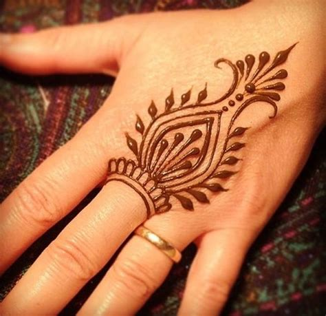 henna like tattoos 60 simple henna designs to try at least once
