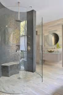 Luxurious style houses models best doorless walk in shower ideas