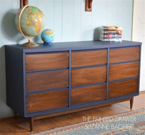 mid century modernes schlafzimmer mid century modern dresser makeover schr 228 nkchen m 246 bel