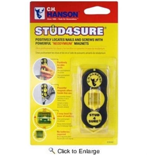 c h hanson 03040 stud 4 sure magnetic stud finder