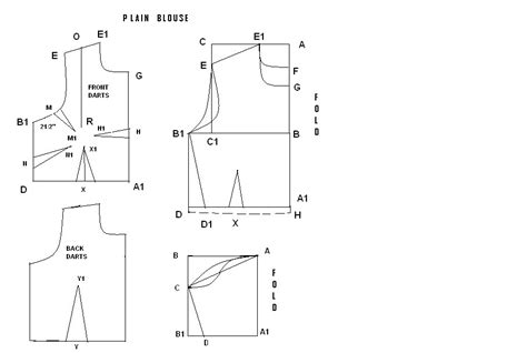 Pattern Making For Blouse | choli blouse pattern making long blouse with pants