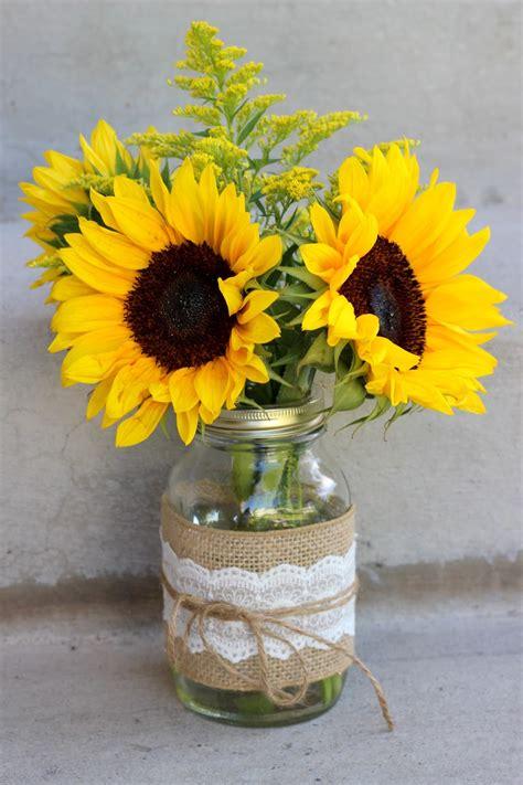 Sunflower Centerpieces For Weddings Celebration Flair Summery Sunflowers