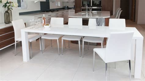 White Extending Dining Tables White High Gloss Extending Dining Table And Chairs Uk